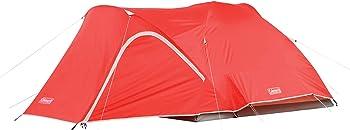 Coleman Hooligan 9' x 7' 4 Camp Pads Tent w/ Weathertec System