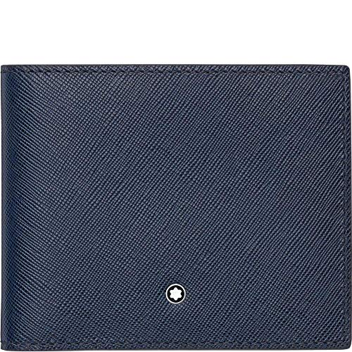 Montblanc Credit Card Case, indigo (blue) - 113217
