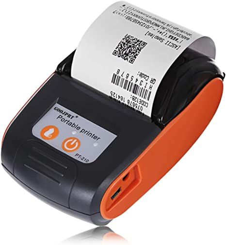 Impresora Portátil Del Bluetooth El 58MM Bluetooth Thermal Printer ...