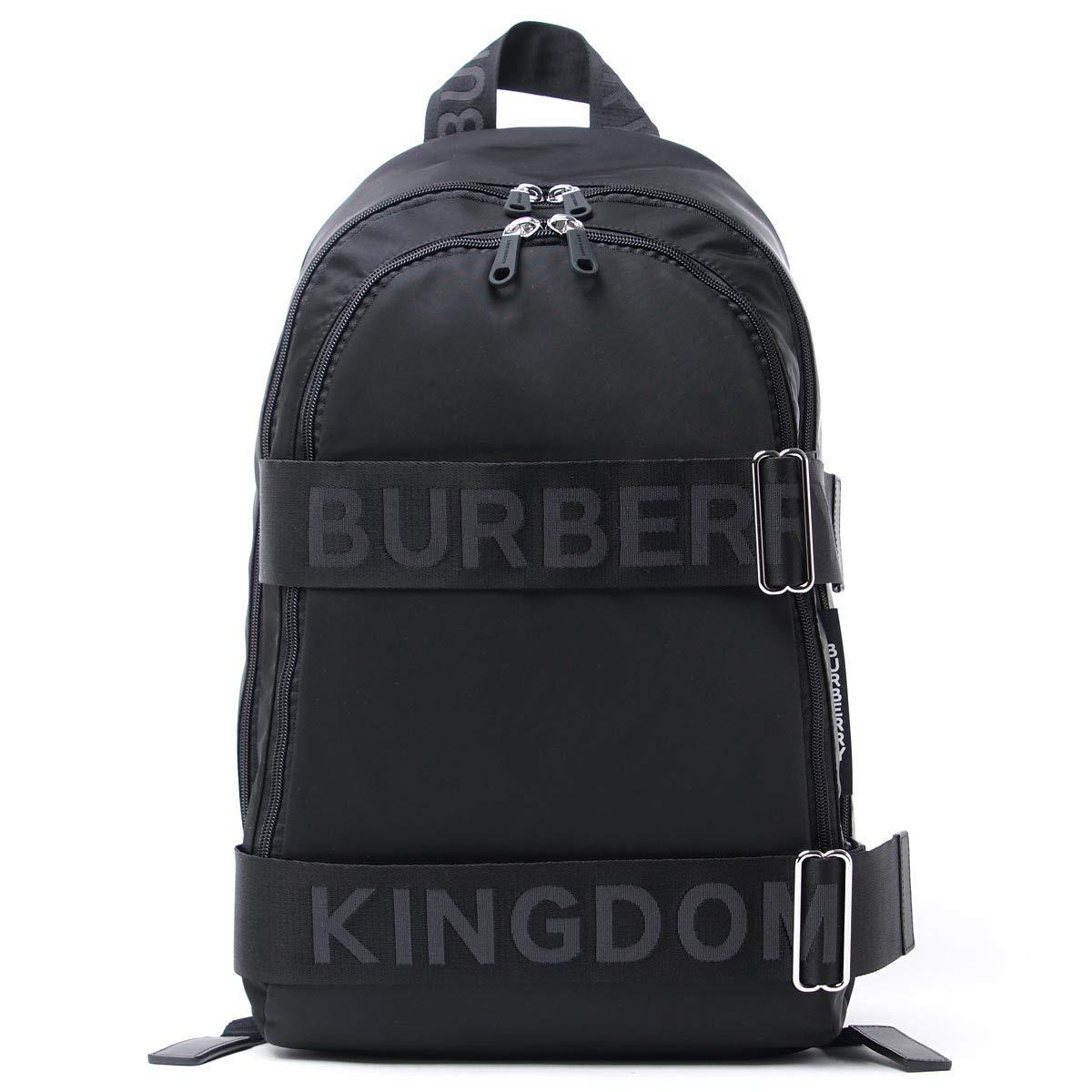 (バーバリー) BURBERRY バックパック LARGE LOGO ROCCO [並行輸入品]   B07RRTS3CT