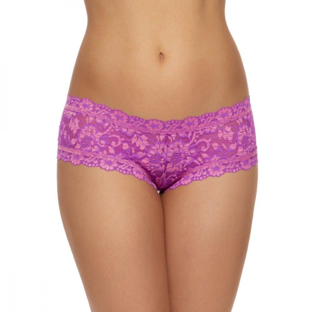 Hanky Panky Womens Cross Dye Signature Lace Boyshort