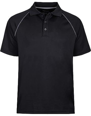 04a0e6eea03 Men's Short Sleeve Moisture Wicking Performance Golf Polo Shirt, Side  Blocked, Tall Sizes: