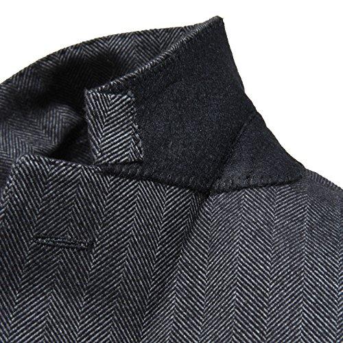 Collection Jacket Uomo Grigio Giacca Men Giacche Spalla Cotone 97652 Capo Cantarelli 7EAwWqS