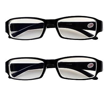 09a8052927 Amazon.com  2 PRS Nearsighted Shortsighted Myopia Glasses -1.00 ...