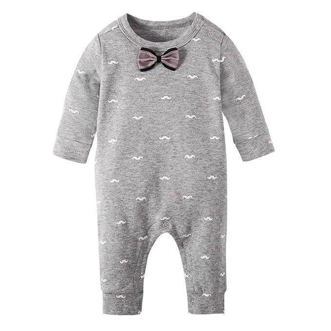 Pijama de bebé de 3-24 Meses de Invierno Pijama Unisex bebé Mono ...