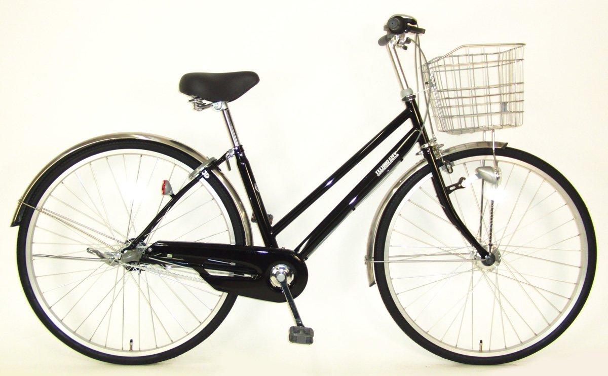C.Dream(シードリーム) テクノシティオートライト TC73-H 27インチ自転車 シティサイクル ブラック 3段変速 100%組立済み発送 B078YLWBV6