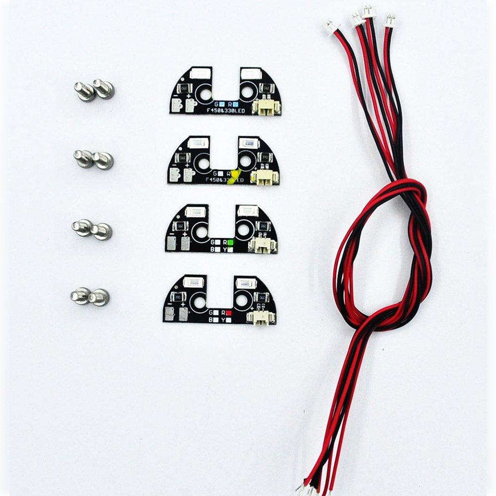 Led Light Zmr Model 4pcs Apm 26 25 28 Tbs Quad Wiring Diagram For Discovery Navigation With Driver Module Quadcopter F330 F450 F550 S500 Fpv Drone Kit
