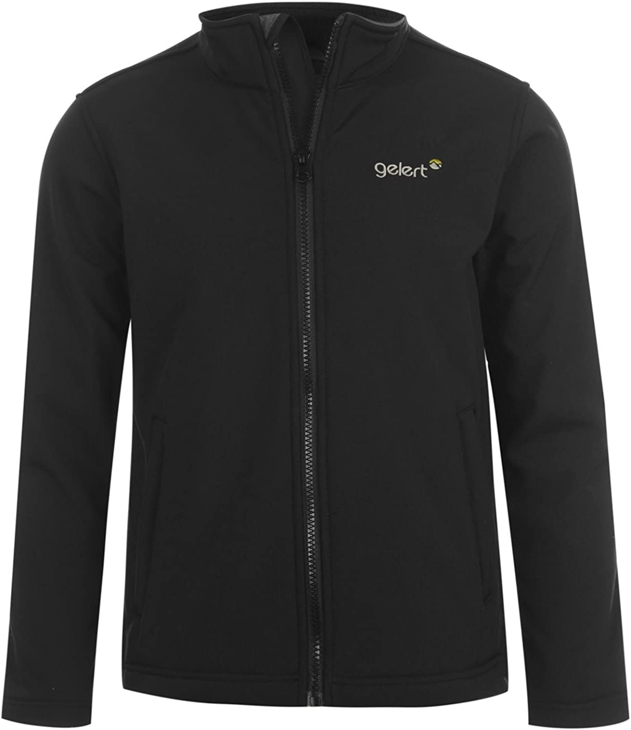 Gelert Kids Boys Softshell Jacket Junior Coat Top Long