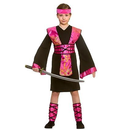 Traje de disfraces de Ninja Assassin negro / rosa de ninjas ...