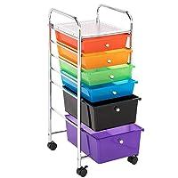 Deals on Lovinland 6 Drawer Rolling Multi-Purpose Storage Cart