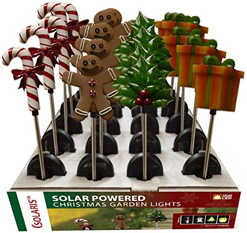 Alpine Corporation SLL622ABB 31 in. Holiday Stake Lights 20 Count Display Pack Of 20
