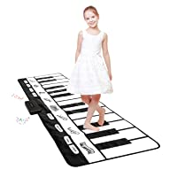 Giant Piano Mat 24 Keys Floor Piano Mat for Kids 71