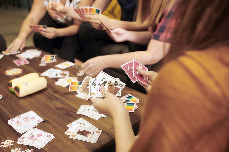 LUCKFY Juegos De Cartas, Burritos Juegos De Mesa Interactivos Juegos De Lanzamiento Juegos De Rompecabezas Adecuado para Reuniones Familiares/Fiesta/Padre-Hijo Regalos De Fiesta: Amazon.es: Deportes y aire libre