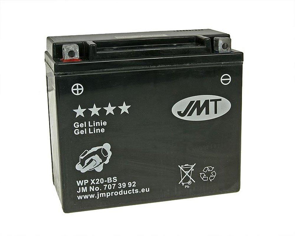 Batterie JMT GEL - YTX20-BS 12 Volt [ inkl.7.50 EUR Batteriepfand ] 2952697