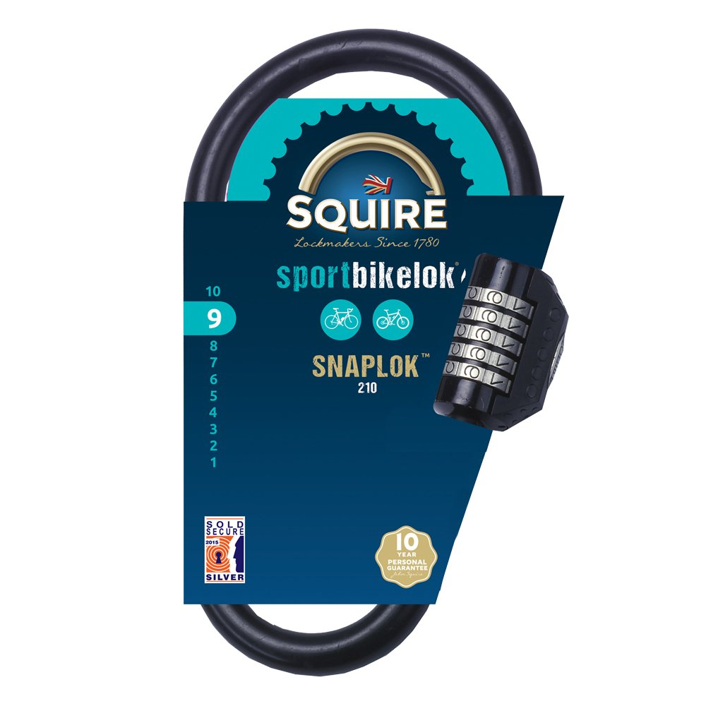 Henry Squire SnapLok Unique Recodable Combi Shackle Lock 260 mm Height