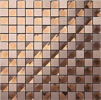 Strukturiertem Metall Mix 13 Facetten Diamant Glas Mosaik Fliesen  Aufkleber, Aluminium Kunststoff Panel Selbst Klebstoff