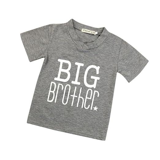 6cd941489db Amazon.com  Kids Baby Boys V Neck Tops T-Shirt