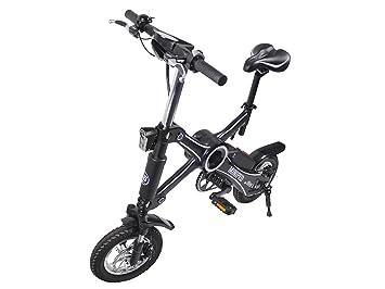 iBike miniped, bicicleta eléctrica plegable