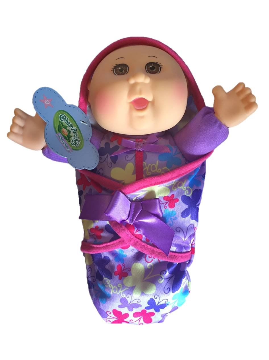 amazon com limited edition 2016 cabbage patch kids lil u0027 swaddlers