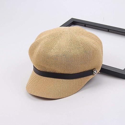 Verano versión Coreana del Sombrero cóncavo de la Boina, Moda ...