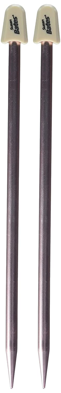 4.5mm Rose Susan Bates 10-Inch Silvalume Single Point Knitting Needle