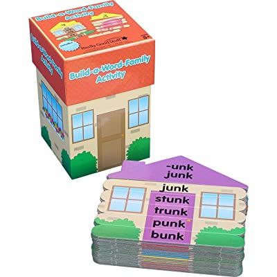 Really Good Stuff Build-A-Word-Family House Activity: Toys & Games