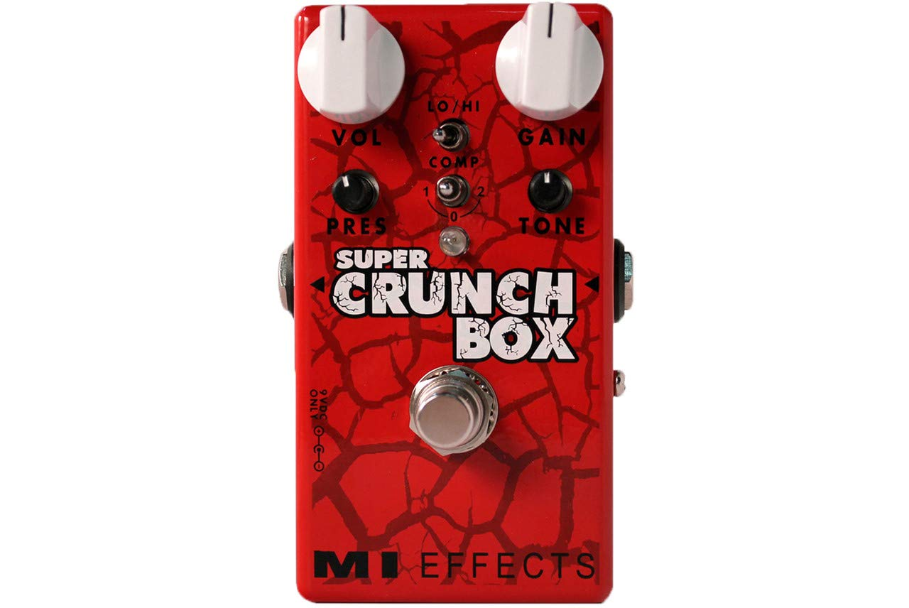 MI Audio Super Crunch Box V2 · Pedal guitarra eléctrica: Amazon.es: Instrumentos musicales