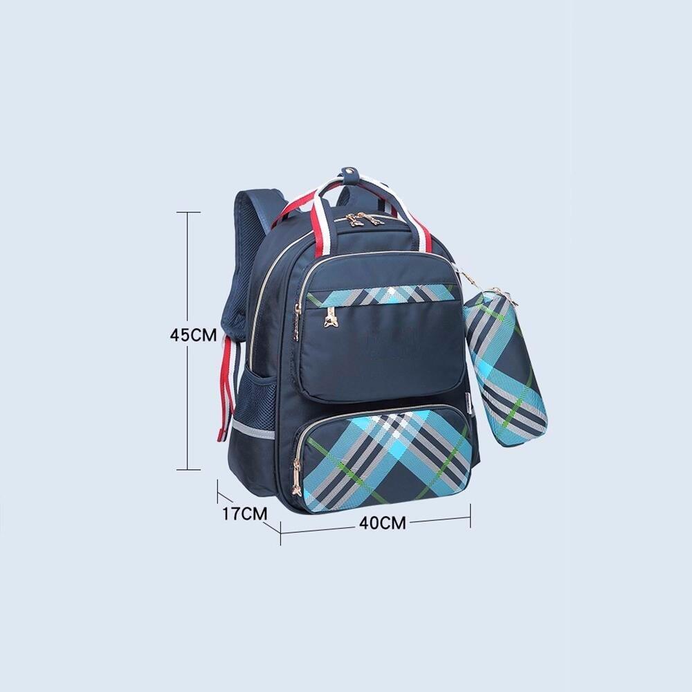c0579c6276 gli alunni, ragazzi e ragazze, una borsa sulla spalla di 8 - 12 anni di età,  peso impermeabile casual zaino,gules: Amazon.it: Cancelleria e prodotti per  ...