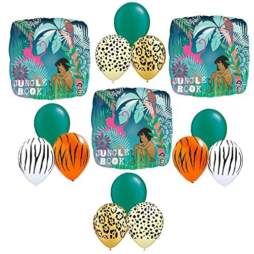 Jungle Book Balloon Bouquet 15 pc