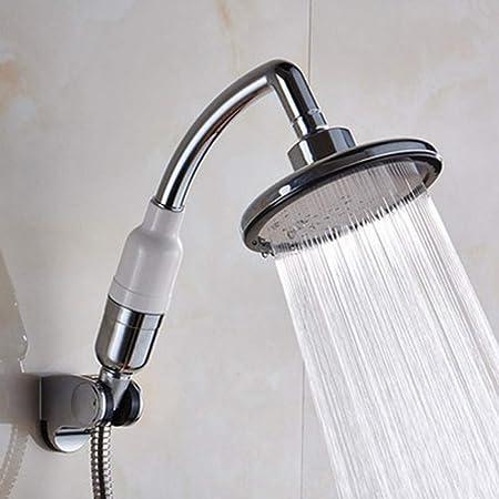 KangHS Alcachofa, Cabezal de ducha de mano multifunción Boquilla de rociador a presión Ducha y base: Amazon.es: Bricolaje y herramientas