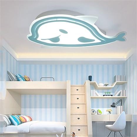 BRIGHTLLT Luz de techo infantil para niños y niñas luces LED dormitorio cartoon princess la iluminación