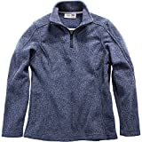 Stormy Kromer Female Woolover Zip Jacket For Her Indigo M