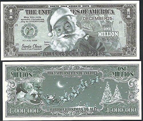 EEN CHRISTMAS MILLION - Lot of 2 Bills ()