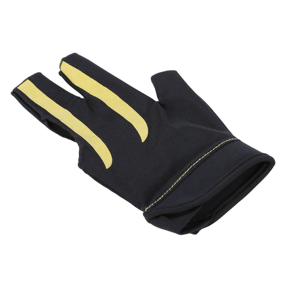 Premium Quality Billiard Gloves Billiards Snooker High Stretch Comfortable Wear Nylon Lycra Three-finger Gloves by Yevison