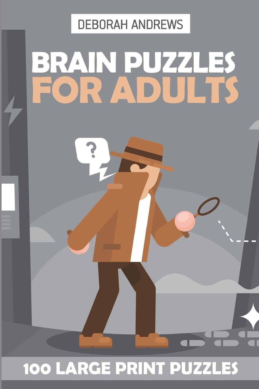 Download Brain Puzzles For Adults: Knossos Puzzles - 100 Large Print Puzzles (Logic Puzzle Books) pdf epub