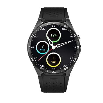 PRIXTON - Reloj Inteligente Smartwatch Hombre/Mujer con Sistema Operativo Android, Ranura SIM, GPS, Pulsometro, RAM: 512MB/ ROM: 4GB, Pulsera de ...