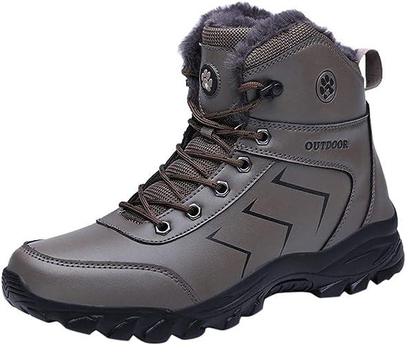 KUDICO Bottes de Neige Homme, Chaussures de Sports Randonnée