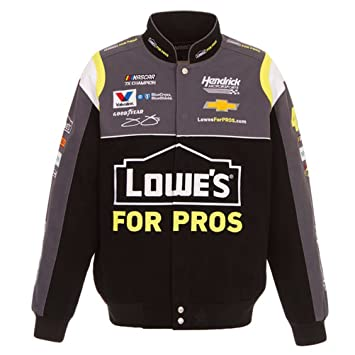 JH Design Jimmie Johnson - Chaqueta de sarga para hombre, color negro, XL: Amazon.es: Deportes y aire libre