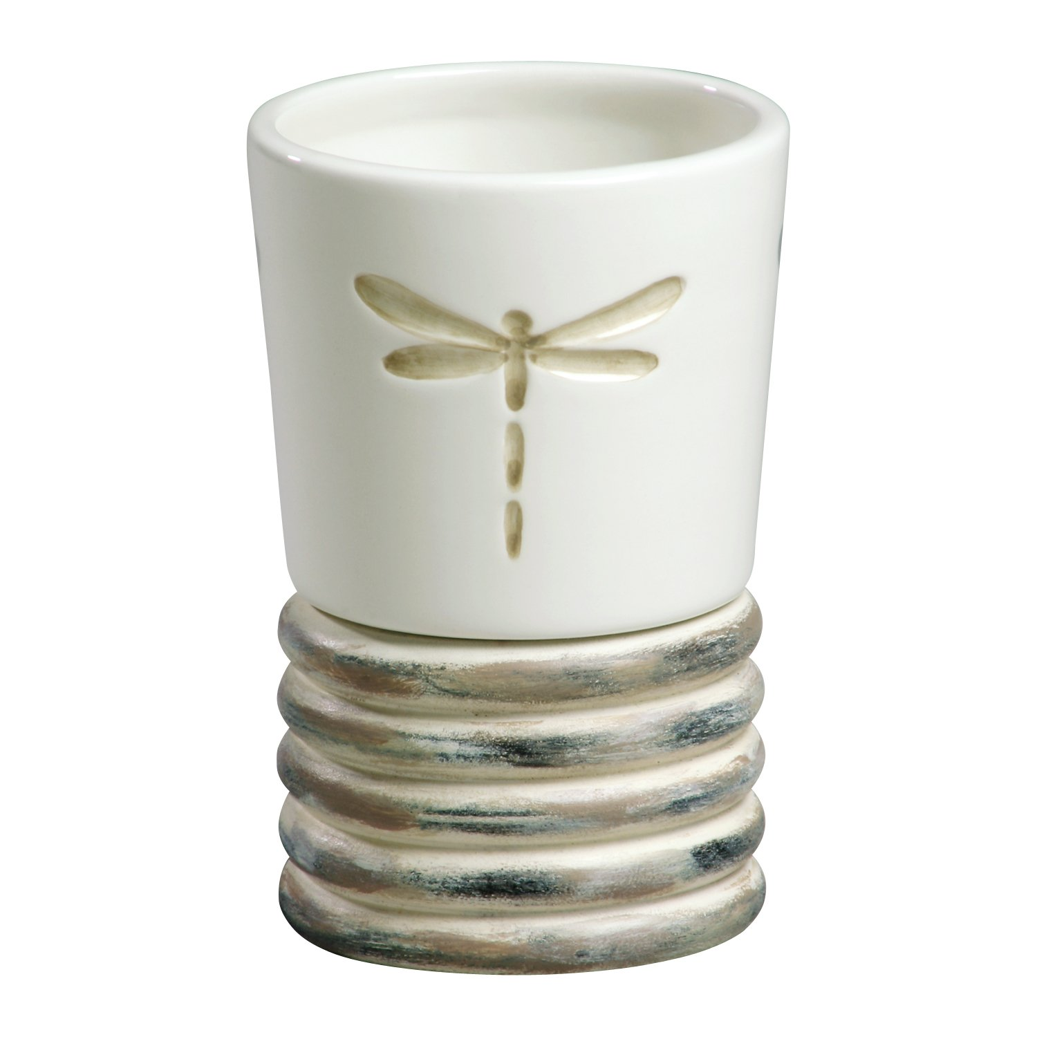 Creative Bath Products Dragonfly Tumbler by Creative Bath