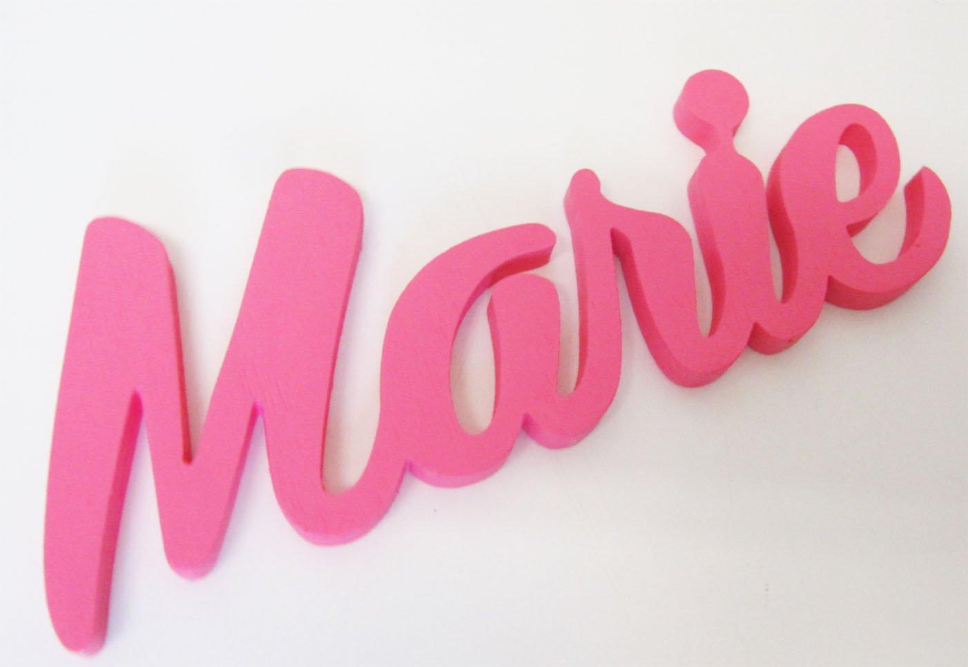 Letreros para el Cuarto de los Ni/ños Carteles de Nombres Letreros Personalizados para puertas Letreros personalizados para Ni/ños o Ni/ñas Amelie Regalos Personalizados Mia Workshop Decoracci/ónes para Dormitorios