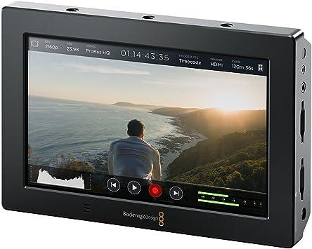 Amazon Com Blackmagic Design Video Assist 4k 7 High Resolution Monitor With Ultra Hd Recorder Camera Photo