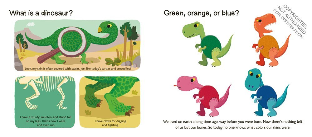 Dinosaurs: Touch and Explore by TWIRL (Image #1)