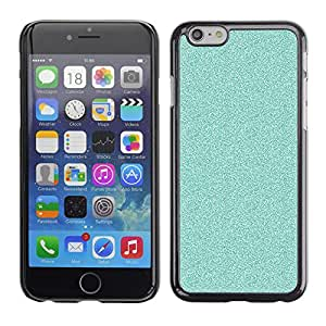 For Apple iPhone 6 Plus(5.5 inches)Case , Glitter Blue Bright Bling Clean - Diseño Patrón Teléfono Caso Cubierta Case Bumper Duro Protección Case Cover Funda
