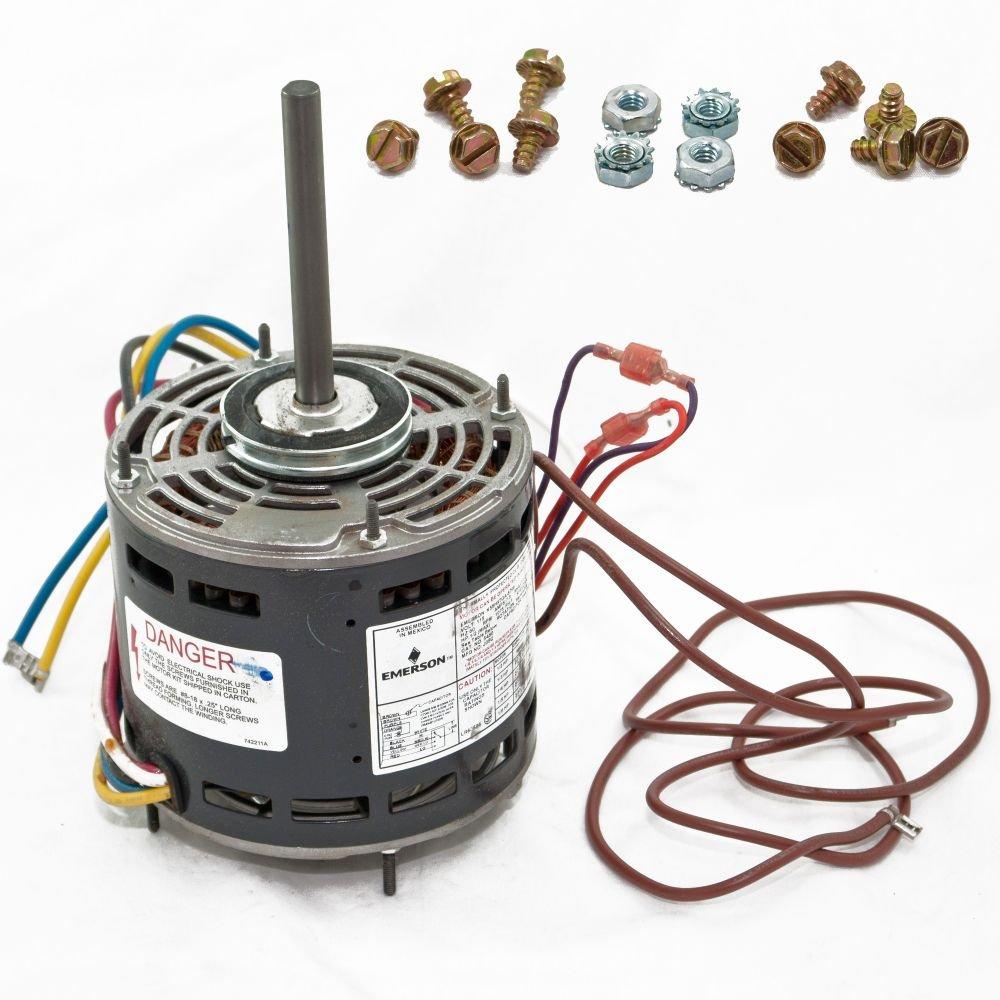 1/2 Multi HP Direct Drive Fan & Blower Rescue Motor, 1075 RPM, 115 V