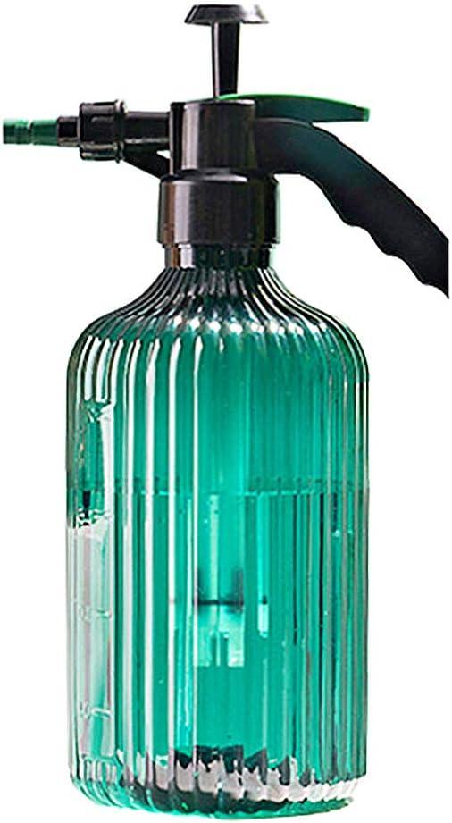 Yarnow Botella de Spray Vacía Pulverizador de Jardín Bomba Pulverizador de Agua Dispensador de Flores Botella de Spray Multipropósito Recargable 2L Verde