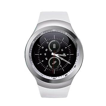 SinoPro Y1 Reloj Inteligente, Deportes Rastreador de Ejercicios Reloj Bluetooth con La tarjeta SIM y La ...
