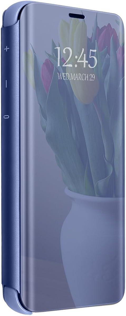Funda para OnePlus 6/6T Carcasa Espejo Mirror Flip Caso Ultra ...