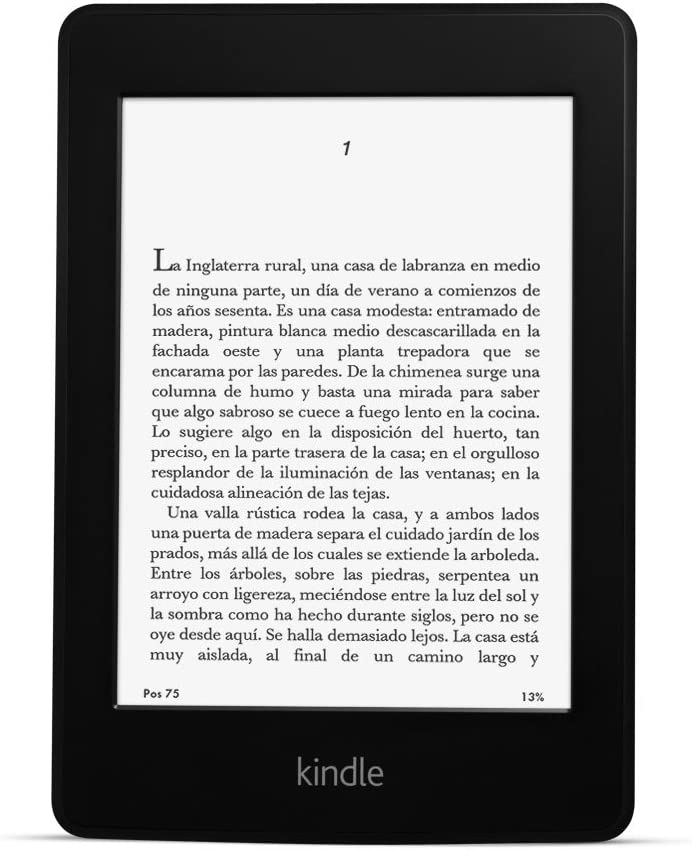 Kindle Paperwhite 3G reacondicionado certificado, pantalla de 6 ...
