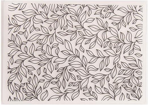 Cdrox Bricolaje de plástico en Relieve Hojas de Carpeta Diseño ...