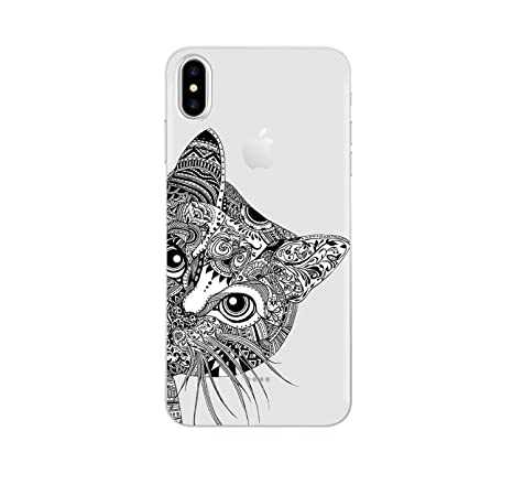 Amazon.com: Cat Case for iPhone Xs Max XR X 8 5 5S SE 6 6S 7 ...